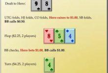 这手89s在河牌圈应该如何行动?-德州扑克牌局分析-蜗牛扑克官方-GG扑克