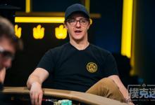 Kahle Burns在WSOP主赛事中保持筹码领先-蜗牛扑克官方-GG扑克