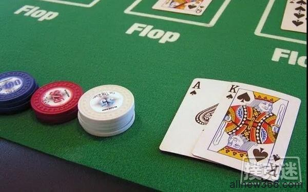 德州扑克如何在不利位置游戏AK