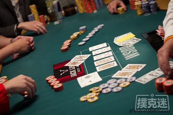 德州扑克中分析德州扑克中的三人全压局面