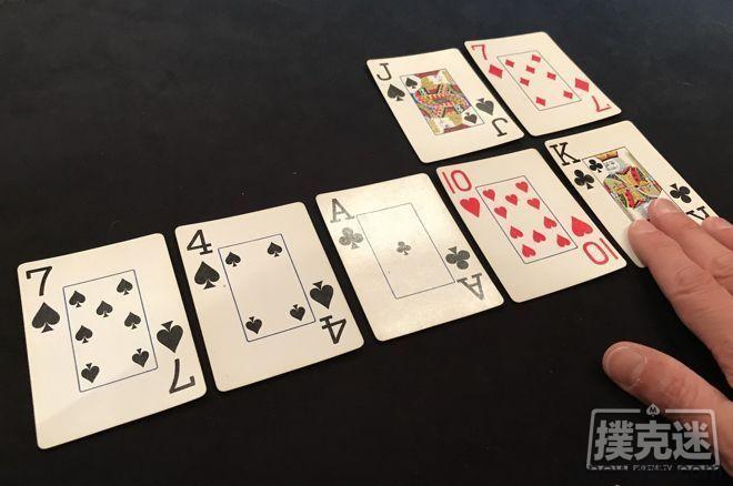 """德州扑克为何""""发牌两次""""并未影响你的EV?"""