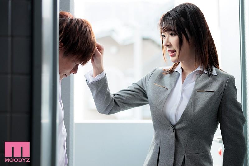 宿舍对面住着巨乳女老师「辻井ほのか」,偷窥被抓包竟被她「诱惑榨干」!