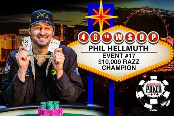 德州扑克金手链背后:Phil Hellmuth