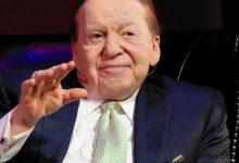 Sheldon Adelson请病假接受癌症治疗-蜗牛扑克官方-GG扑克
