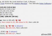 德州扑克J8s,翻牌圈拿到了超级听牌,怎么打为好?-蜗牛扑克官方-GG扑克