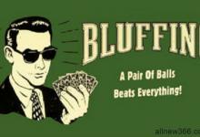 七个不要在德州扑克中诈唬的场合-蜗牛扑克官方-GG扑克