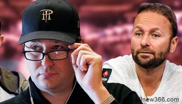 """丹牛再次抨击Phil Hellmuth""""属于你的时代已经过去"""" 单挑赛第二回合Holz再获$14,651"""