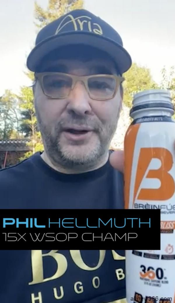 "Phil Hellmuth为即将开始的单挑赛准备了""秘密武器"""