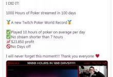 利物浦玩家刷新纪录 100天内直播1000小时的扑克-蜗牛扑克官方-GG扑克