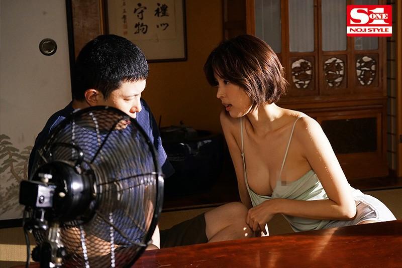 SSNI-987:乡下寄宿艳遇,与隔壁美人妻「葵つかさ」汗流浃背的偷情性爱!