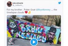 Luke Schwartz用涂鸦墙致敬Bryn Kenney苏格兰奇才David Vamplew即将复出-蜗牛扑克官方-GG扑克