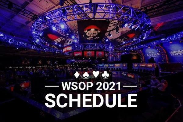 2021年WSOP赛程表发布共88项金手链赛事
