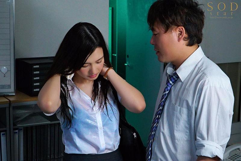 古川いおり(古川伊织)作品 STARS-094 :暴雨夜与憧憬的女上司办公室湿身做爱!