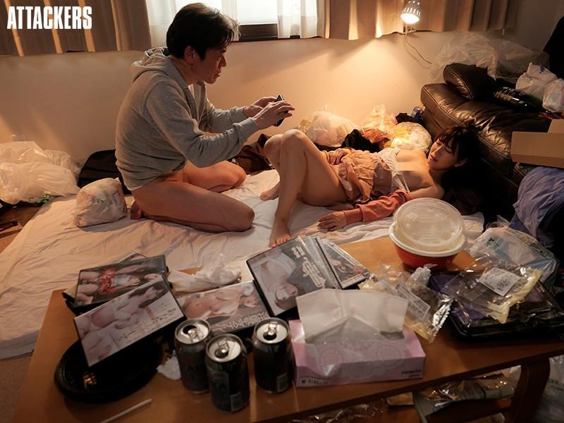 初川みなみ(初川南)作品ADN-331 :每天被住在垃圾屋的变态大叔中出的人妻。