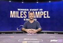 Miles Rampel度假之余顺手拿了个扑克大师赛#9冠军!-蜗牛扑克官方-GG扑克